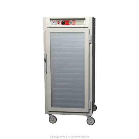 Intermetro C567L-SFC-LA Heated Holding Cabinet Mobile