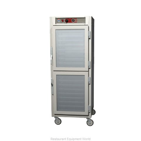 Intermetro C569L-NDC-UPDS Heated Cabinet, Mobile, Pass-Thru (Magnified)