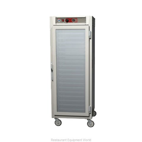 Intermetro C569L-NFC-UPFCA Heated Holding Cabinet Mobile Pass-Thru