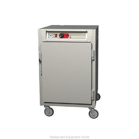 Intermetro C585-SFS-LA Heated Holding Cabinet Mobile Half-Height (Magnified)