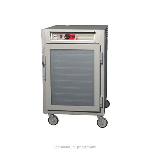Intermetro C585L-SFC-LA Heated Holding Cabinet Mobile Half-Height (Magnified)