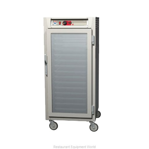 Intermetro C587L-NFC-LA Heated Holding Cabinet Mobile (Magnified)