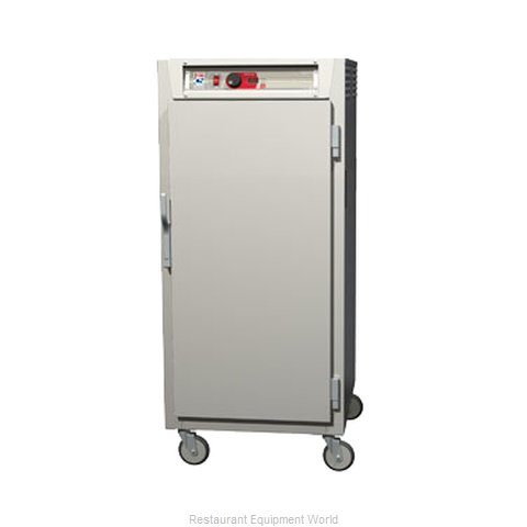 Intermetro C587L-NFS-U Heated Cabinet, Mobile (Magnified)