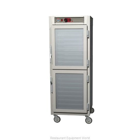 Intermetro C589L-NDC-UPDCA Heated Holding Cabinet Mobile Pass-Thru (Magnified)