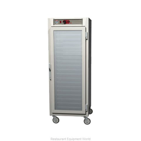 Intermetro C589L-NFC-LA Heated Holding Cabinet Mobile (Magnified)