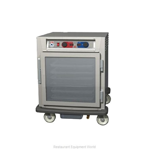 Intermetro C593L-SFC-LA Proofer Holding Cabinet Mobile Half-Height (Magnified)