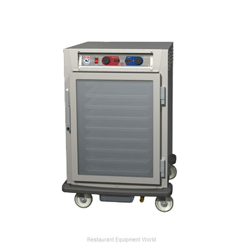 Intermetro C595L-NFC-UA Proofer Holding Cabinet Mobile Half-Height