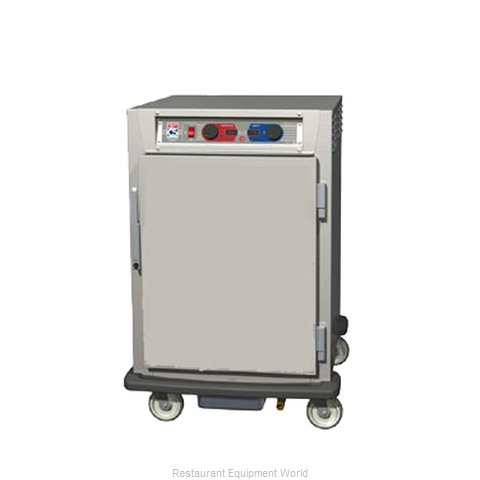 Intermetro C595L-SFS-UPFCA Proofer Holding Cabinet Pass-Thru Mobile (Magnified)