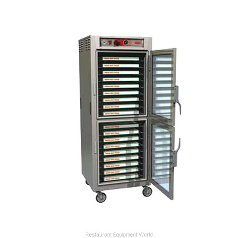 Intermetro C5Z69-SDC-UPDCA Heated Holding Cabinet Mobile Pizza