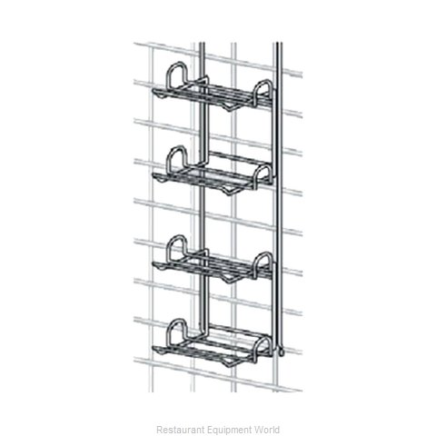 Intermetro CR4LPBR Shelving, Wall Grid Accessories (Magnified)
