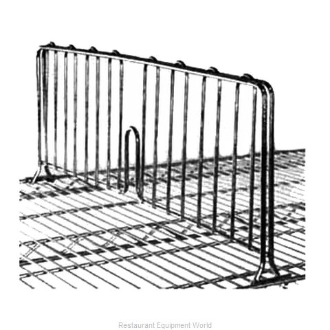 Intermetro DD36BL Shelf Divider, Wire