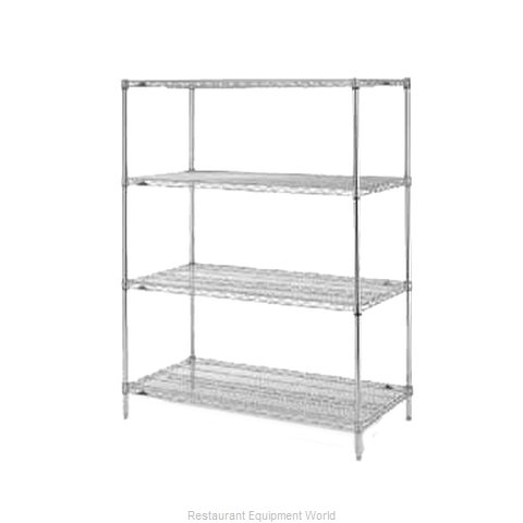 Intermetro EZ1848NC-4 Shelving Unit, Wire