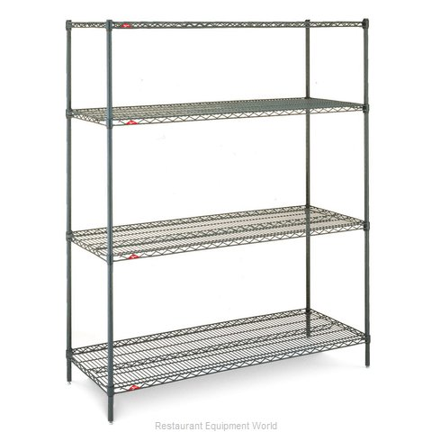 Intermetro EZ2436NK3-4 Shelving Unit, Wire (Magnified)