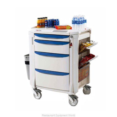 Intermetro FLMB2 Mini Bar Restocking Cart