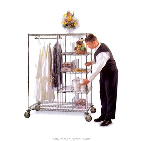 Intermetro HVDC2448 Valet/Laundry/Delivery Cart (Magnified)