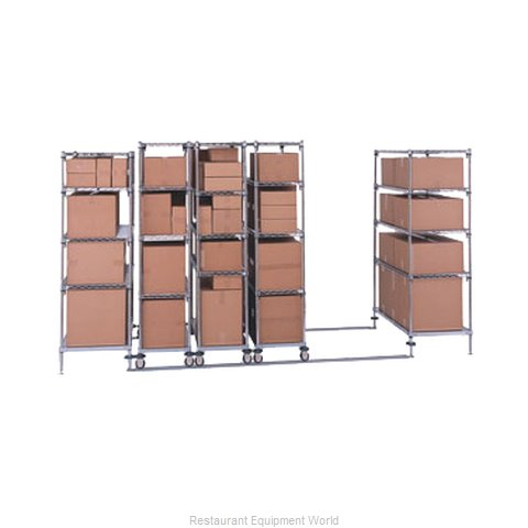 Intermetro LBTAC Track Shelving Kit