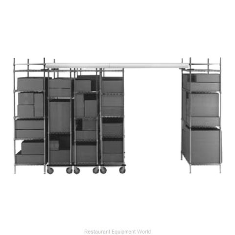 Intermetro LTTE21C Track Shelving Kit
