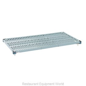 Intermetro MQ2436G Shelving, Plastic with Metal Frame