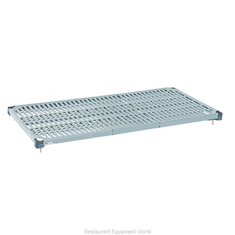 Intermetro MQ2442G Shelving, Plastic with Metal Frame