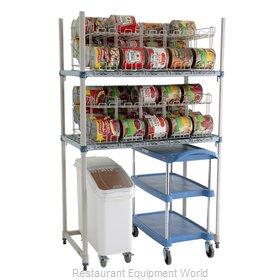 Intermetro MQCR243674-RU Can Storage Rack