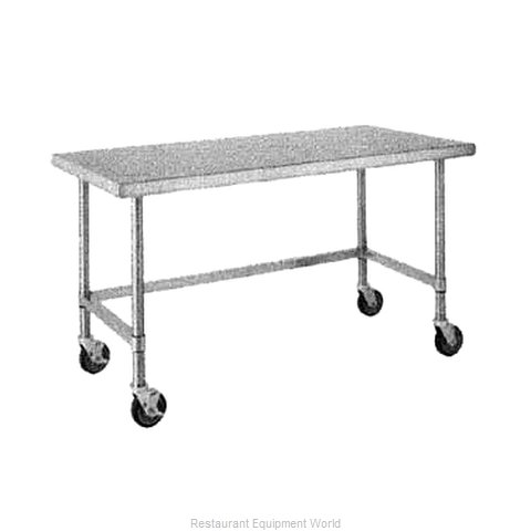 Intermetro MWT307US Work Table 72 Long Stainless steel Top