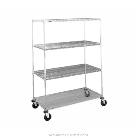 Intermetro N436BC Super Erecta Stem Caster Cart
