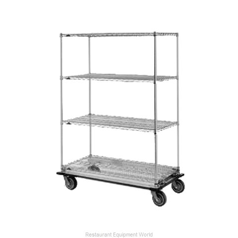 Intermetro N566MC Shelving Unit on Dolly Truck (Magnified)