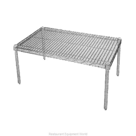 Intermetro P2424BR Dunnage Rack, Wire (Magnified)