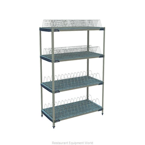 Intermetro PR48X4 Pot and Pan Shelving Rack