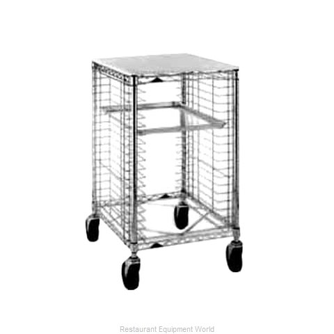 Intermetro RE1P Pan Rack with Work Top, Mobile