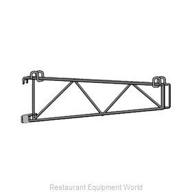 Intermetro SWD24BR Wall Mount, for Shelving