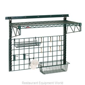 Intermetro SWK36-1A1-SR Shelving, Wall Grid Unit