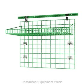 Intermetro SWK36-2 Shelving, Wall Grid Unit