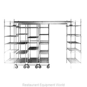 Intermetro TTE21S Track Shelving Kit