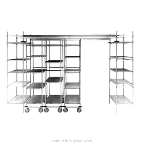 Intermetro TTS8NA Track Shelving Section (Magnified)