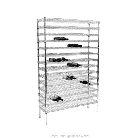 Intermetro WC237C Shelving Unit, Wine (Magnified)