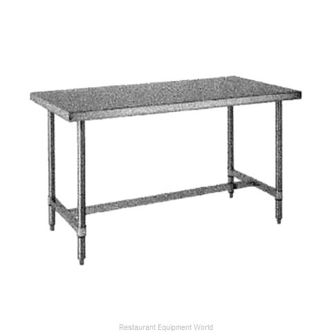 Intermetro WT367HS Work Table 72 Long Stainless steel Top