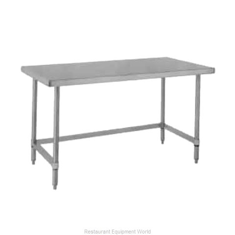 Intermetro WT367US Work Table 72 Long Stainless steel Top