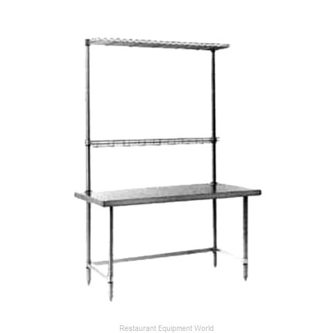 Intermetro WTC307US Work Table 72 Long Stainless steel Top
