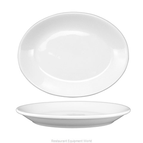International Tableware DO-13 Platter, China (Magnified)