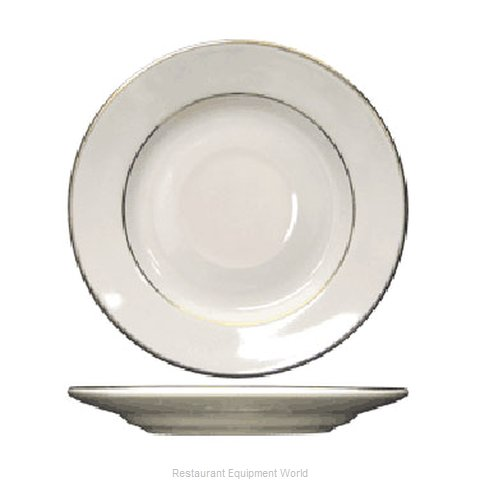 International Tableware FL-2GF China Saucer (Magnified)