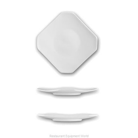 International Tableware HE-8 China Plate (Magnified)