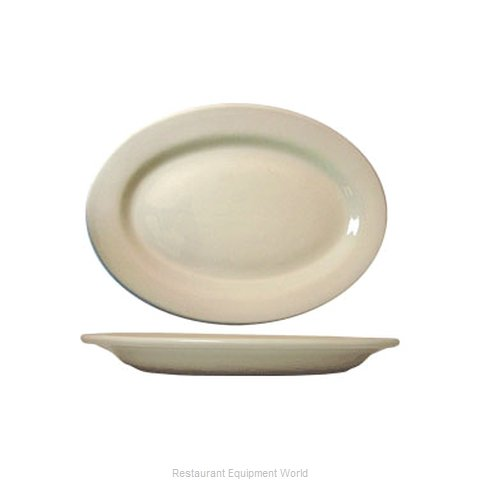 International Tableware RO-13 Platter, China (Magnified)