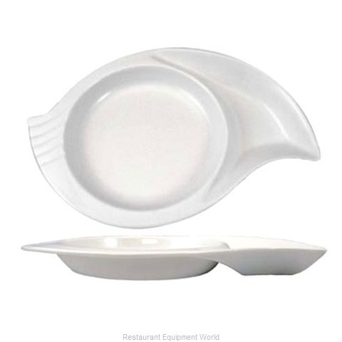 International Tableware SN-16-EW China, Compartment Dish Bowl