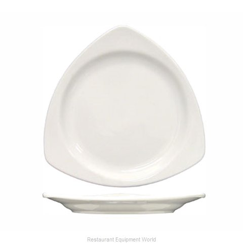 International Tableware TR-10-EW China Plate (Magnified)