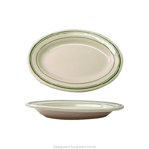 International Tableware VE-14 Platter, China (Magnified)