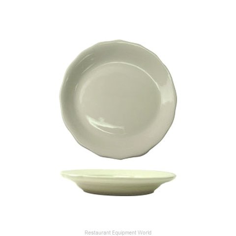 International Tableware VI-8 China Plate (Magnified)