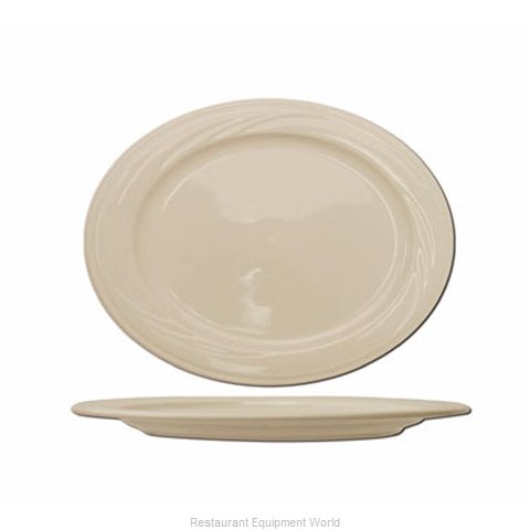 International Tableware Y-13 Platter, China (Magnified)