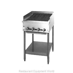 Jade Range JB-18-F Charbroiler, Gas, Floor Model