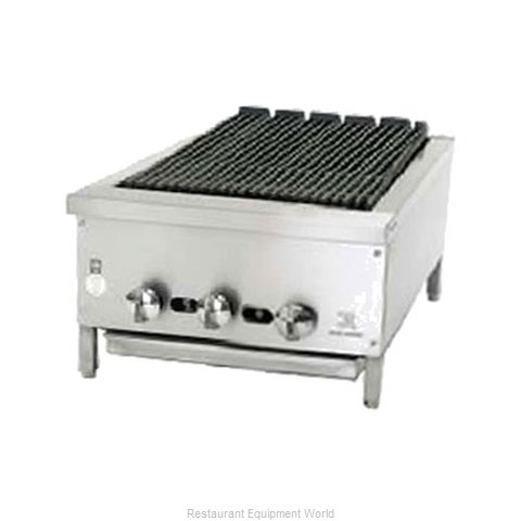 Jade Range JB-18 Charbroiler Gas Counter Model (Magnified)